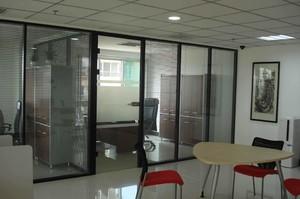 200平米办公室现代风格房屋隔断装修效果图