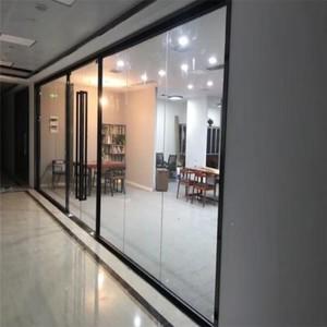 400平米图书馆现代风格透明隔断装修效果图