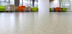 医院用橡胶地板效果图