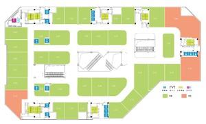 小型商场平面图