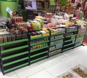 30平小型超市现代简约风格装修效果图
