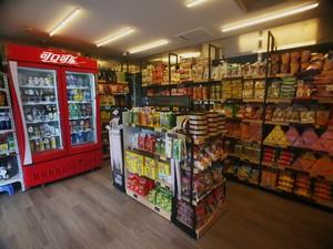 30平小型超市简约风格装修效果图