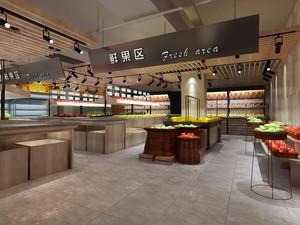 80平小型超市现代欧式风格装修效果图