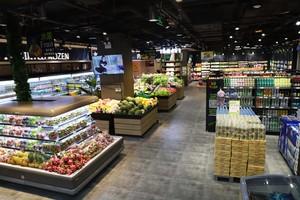 80平小型超市现代港式风格装修效果图