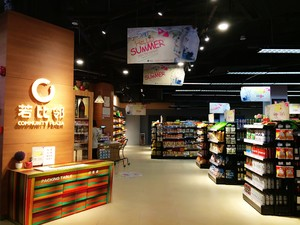80平小型超市后现代风格装修效果图