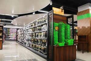 80平小型超市现代奢华风格装修效果图