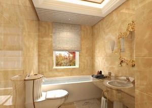 110平米两居室欧式风格房屋卫生间装修效果图