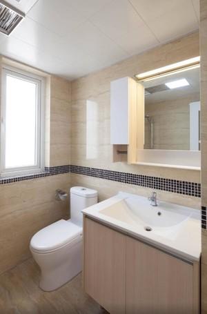 89平米小户型简约风格房屋卫生间装修效果图