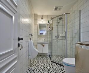 90平房子现代简约风格淋浴隔断装修效果图