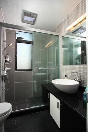 50平复式北欧现代风格淋浴隔断装修效果图