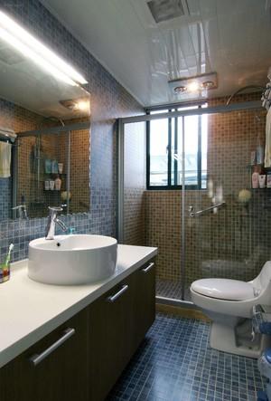 80平方小别墅宜家风格淋浴隔断装修效果图