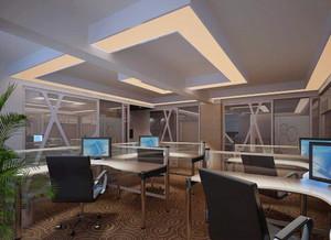 215平米公司办公室玄关隔断装修效果图