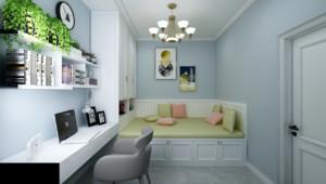 85平米两居室次卧榻榻米装修效果图