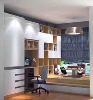 120平米三居室次卧榻榻米装修效果图