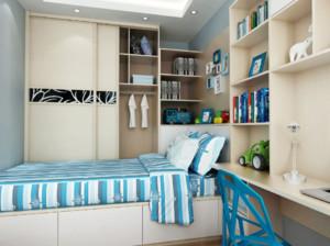 115平米两居室次卧榻榻米装修效果图