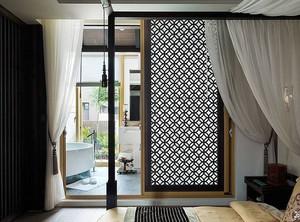二居室卧室小阳台隔断装修效果图