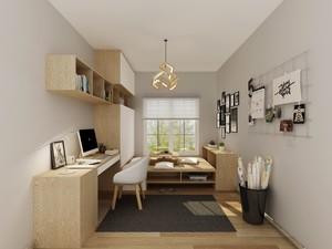 38平米公寓中式榻榻米房间装修效果图