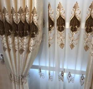 130平米小户型阳台窗帘装修效果图