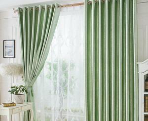 35平米房子小户型阳台窗帘装修效果图