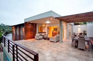235平米房子别墅阳台露台花园装修效果图