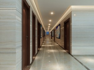 750平现代风格房屋走廊装修效果图
