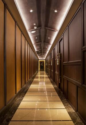 900平复古风格房屋走廊装修效果图