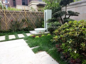 220平米小型新中式别墅庭院装修效果图