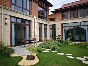 240平米小型新中式别墅庭院装修效果图