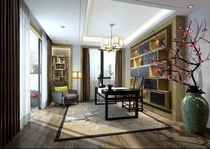 180平米二层新中式自建别墅装修效果图