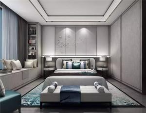 15万元以内农村别墅新中式飘窗装修效果图
