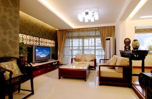 326平米房子农村自建中式二层别墅装修效果图