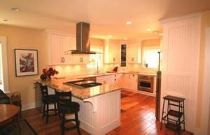 160平米别墅新中式别墅开放式厨房装修效果图