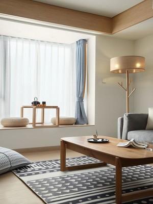 90平方别墅日式飘窗榻榻米装修效果图