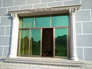 现代简欧风格外墙罗马柱颜色装修效果图