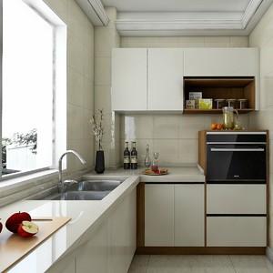 60平方公寓欧派整体橱柜装修效果图