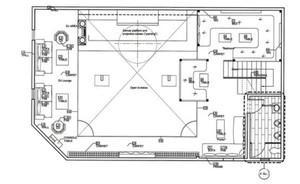 100平米小酒吧平面设计图