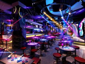 100平米小型酒吧装修效果图