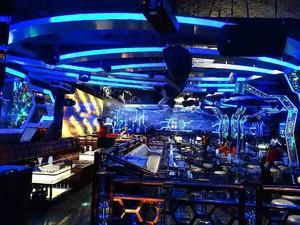 100平小型酒吧日式装修效果图