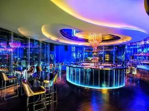 100平小型现代酒吧装修效果图