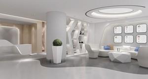 100平小型牙科诊所装修设计效果图