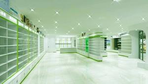 100平米药店室内装修效果图