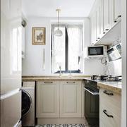 厨房田园橱柜三居室装修