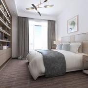 卧室韩式衣柜100平米装修