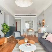 客厅北欧沙发三居室装修