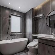 卫生间现代瓷砖100平米装修