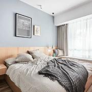 卧室简欧飘窗100平米装修