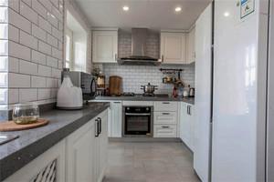 40平米小户型u字形厨房装修效果图