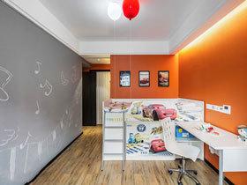 多彩时尚创意儿童房装修案例