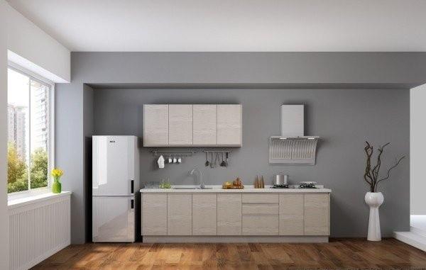 一字型厨房装修设计图
