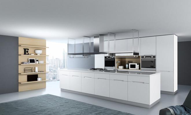 厨房岛台装修设计效果图
